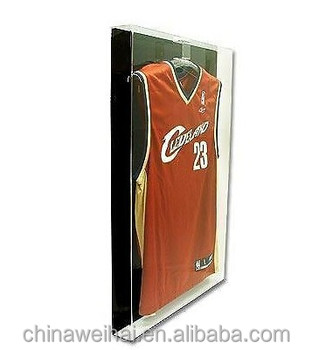 Deluxe Acrylic Small Jersey Display Glass Frame Cabinet