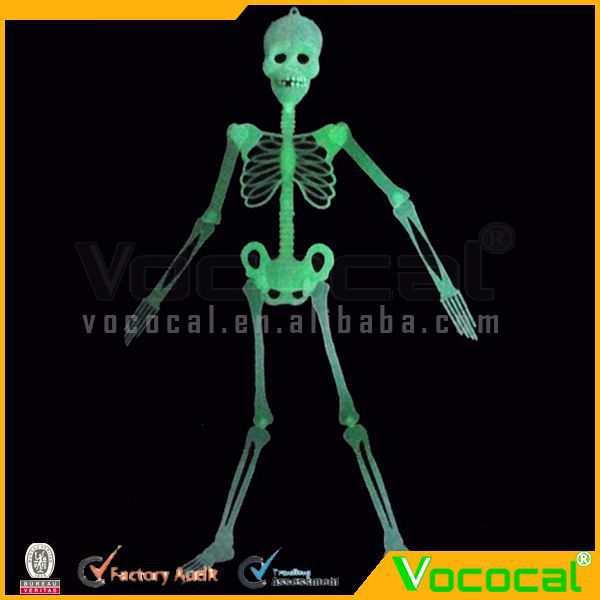 Halloween Props 150CM Plastic Luminous Human Skeleton Toy