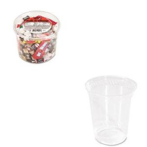 KITOFX00013SVARP19 - Value Kit - NatureHouse Corn Plastic Cup (SVARP19) and Office Snax Soft amp;amp; Chewy Mix (OFX00013)