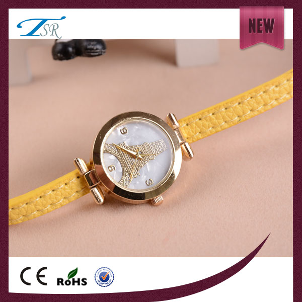 Attractive best fashional eiffel tower printing watch shopping online