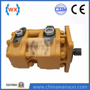 2016 China construction machinery parts parker hydraulic gear pump 705-52-42170 for sale