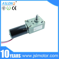 Mini Pwm Electric 12v 150rpm Worm Drive High Torque Low Rpm Electric Motor