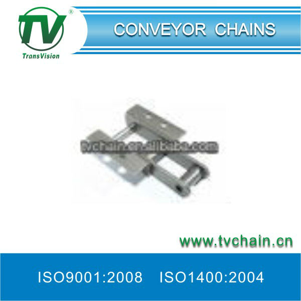 Conveyor index chains WITH ATTACHMENT