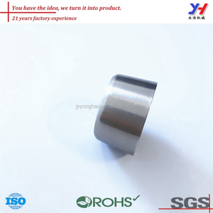 OEM ODM Customized metal 316 stainless steel decorative end cap factory