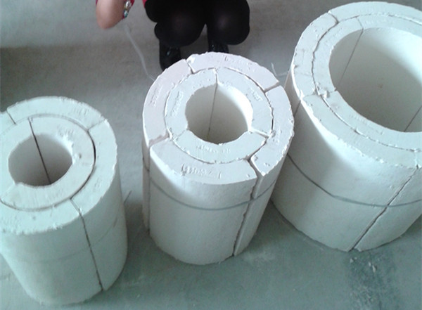 Calcium Silicate Pipe Cover : Fire rated fiber calcium silicate pipe