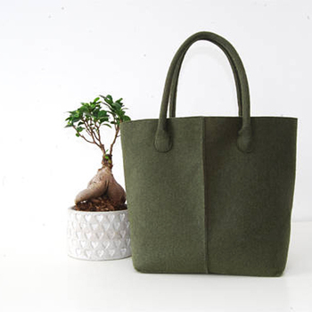 Fashion Handmade Women s Handbags Reversible Utility Felt Tote Bag ... ffe83e5ac1