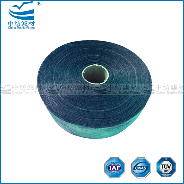Odor absorber activated carbon melt-blown fabric
