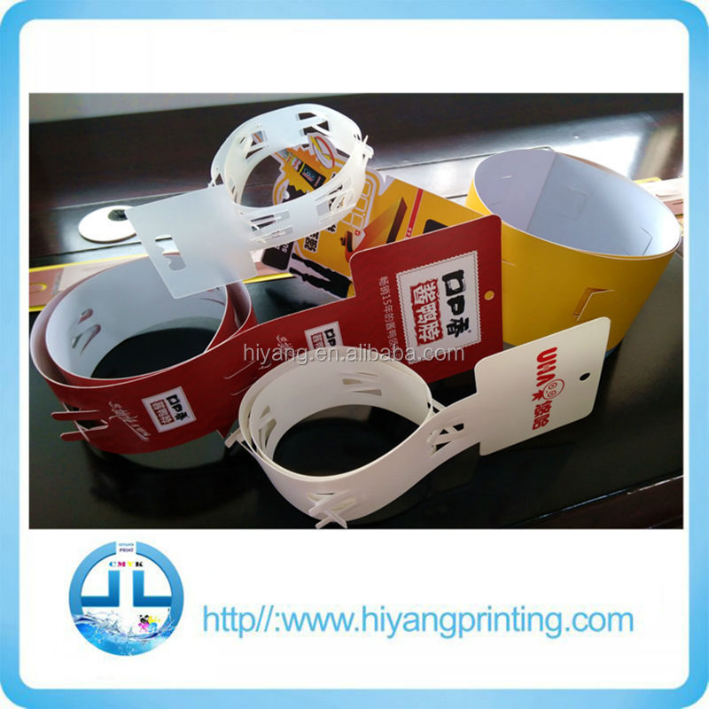 Hot Sale!!PVC&PP Plastic Hanging Strips for Supermarket Promotional Production
