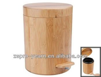 Favoriete Bamboe Houten Prullenbak Vuilnisbak Vuilnisbak Afvalemmer FM37
