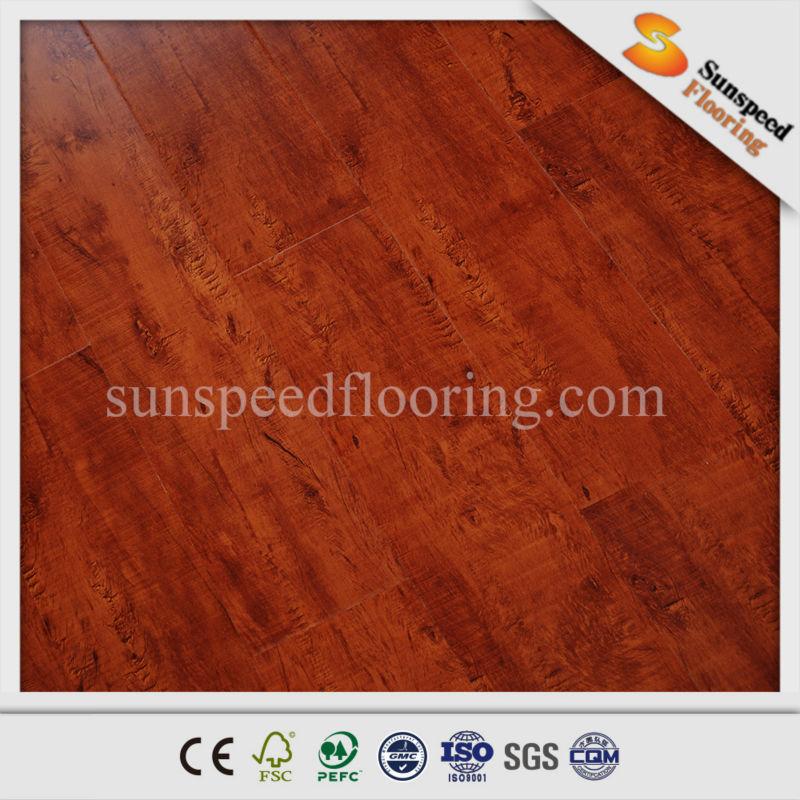 Beveled Edge 12mm Laminate Flooring Wholesale Laminate Floor