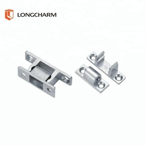 Double Ball Catch 50mm polished chrome cupboard door latch