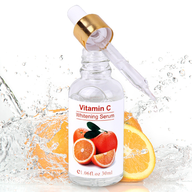 Vitamin C Serum with Hyaluronic Acid and Vitamin E, Organic Anti-Aging Moisturizer Serum for Face