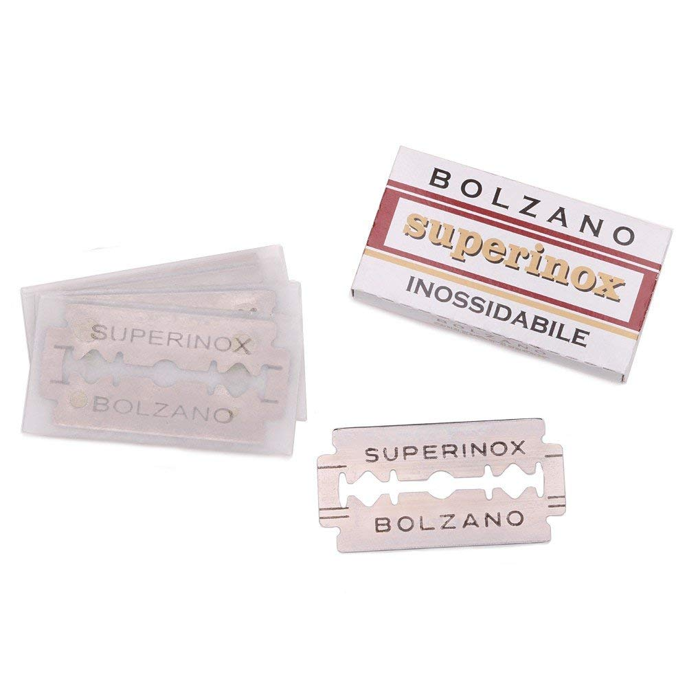Bolzano Razor Blades - 30 Count of Replacement Razor Blades - 30 Pack Bolzano Blades