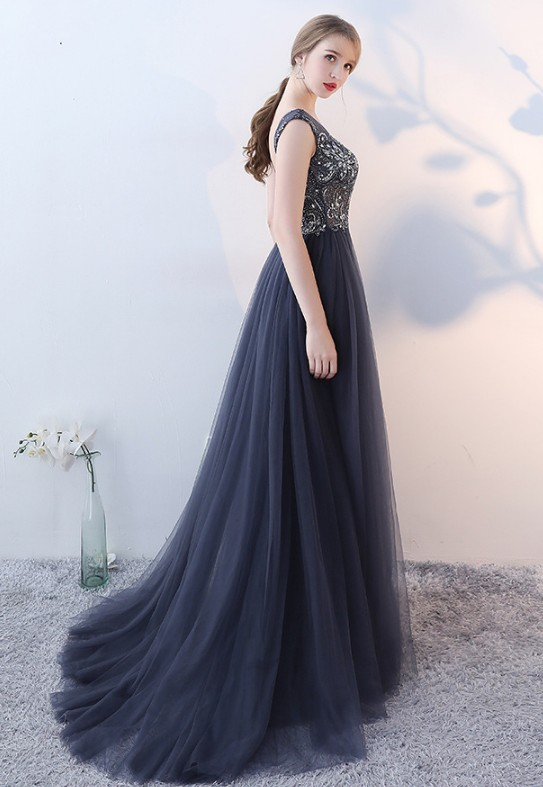 NW1345 Luxury Beaded Fashion Party Gown Real Sample Photo Celebridate Evening Dress On Store