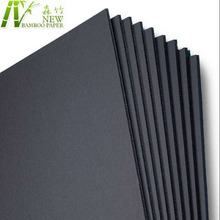 High quality waste paper and recycled pulp 5mm black cardboard