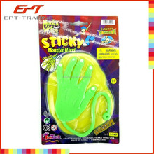 Hot selling kids sticky hand toy