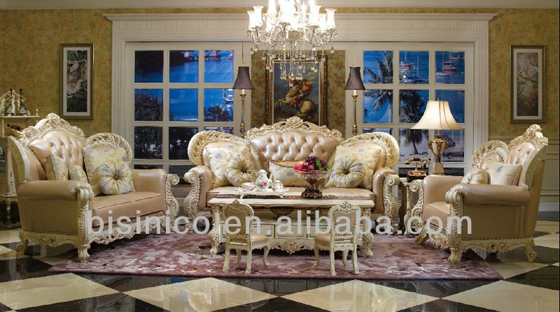 Phenomenal Victorian Wing Back Leather Beige Sofa Couch Ornate Design Buy Genuine Leather Sectional Couch Victorian Style Sofa Set Wingback Leather Sofa Creativecarmelina Interior Chair Design Creativecarmelinacom