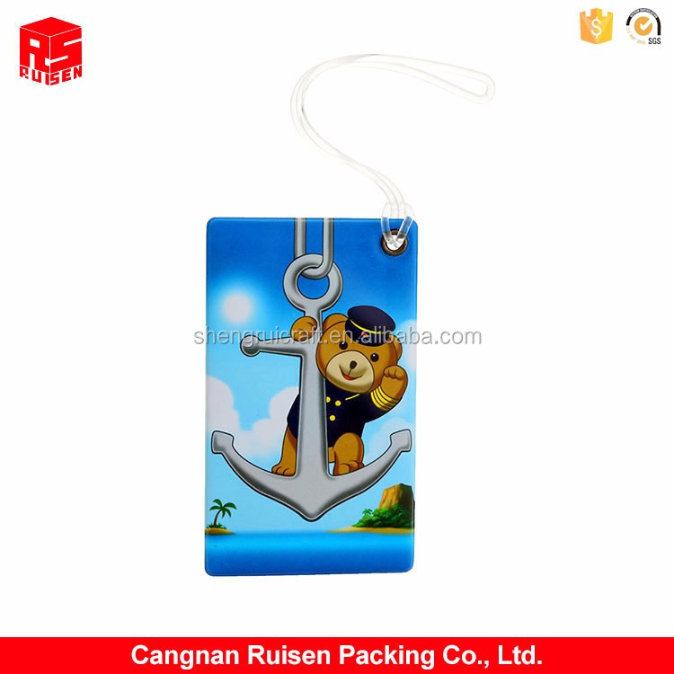Newest selling super quality cartoon printing plastic PVC card holder