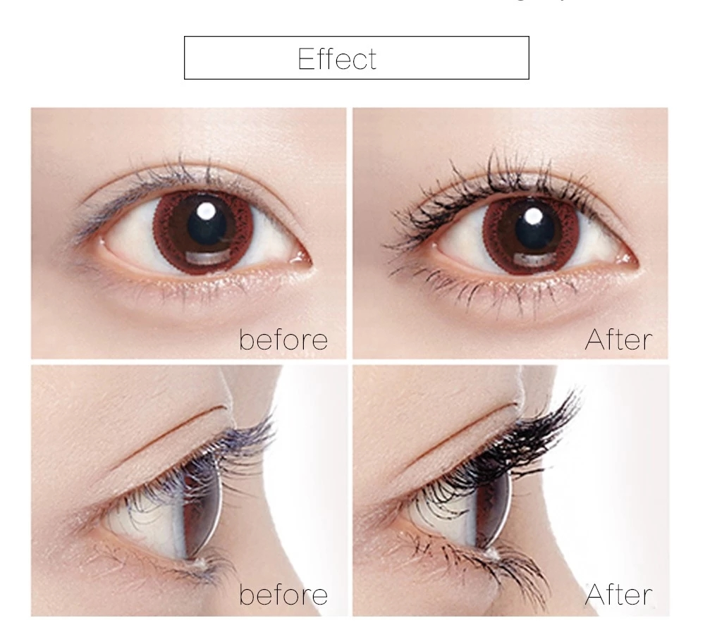Music Flower 3D Fiber lash Mascara ultimate length waterproof mascara facial