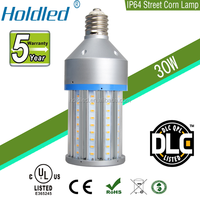 UL 30w led corn light 110v street bulb IP64 corn lamp LED E27