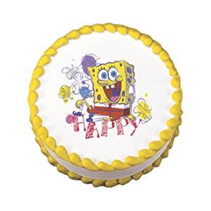 Spongebob Squarepants Edible Cake Topper Decoration