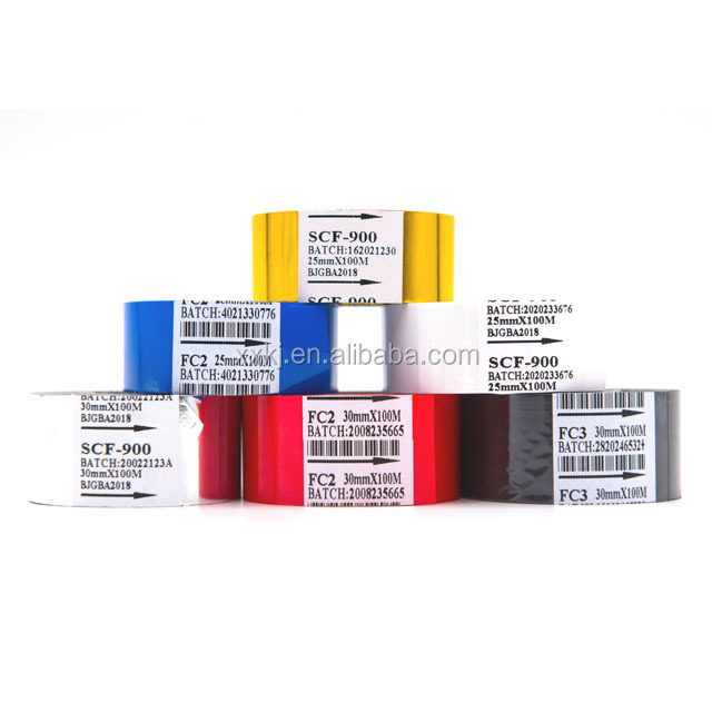 print expriy date ink machine 35mm*15mm Fineray hot printing solid ink roll, hot ink ribbon