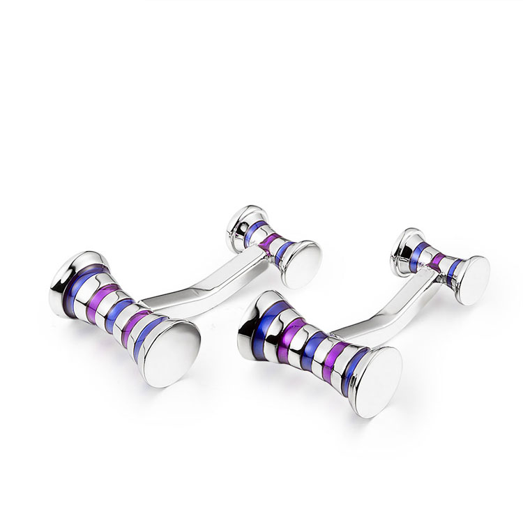 Marlary High Quality <strong>Custom</strong> Luxury Christmas Gifts French Style Enamel <strong>Cufflink</strong> For Men