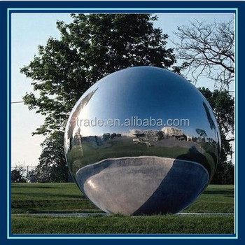 Charmant Garden Ornaments Metal Sculpture Large Hollow Metal Sphere Stainless Steel  Ball