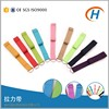 100% cotton D ring yoga stretching strap and stretch out strap