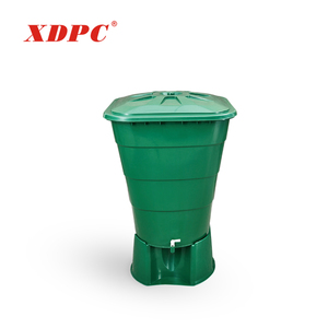 custom printed square plastic plastic water storage container bucket with tap