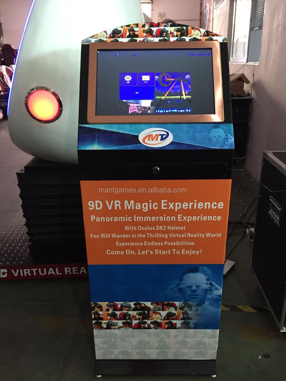 China Supplier 9d Vr Interactive Cabin With Dynamic Effects ...