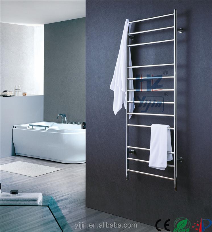 Électrique sèche-linge mur monté sèche-serviettes vertical chauffe ... - Chauffe Serviette Salle De Bain