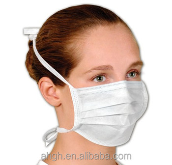 Mask Folded Individual 3 Packing Ply Non Mask make surgical On Tie Woven Buy Face - Product Surgical Mask Disposable