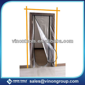 Plastic Zip Door, Plastic Door Protector, Dust Protection Door, Zipper Door