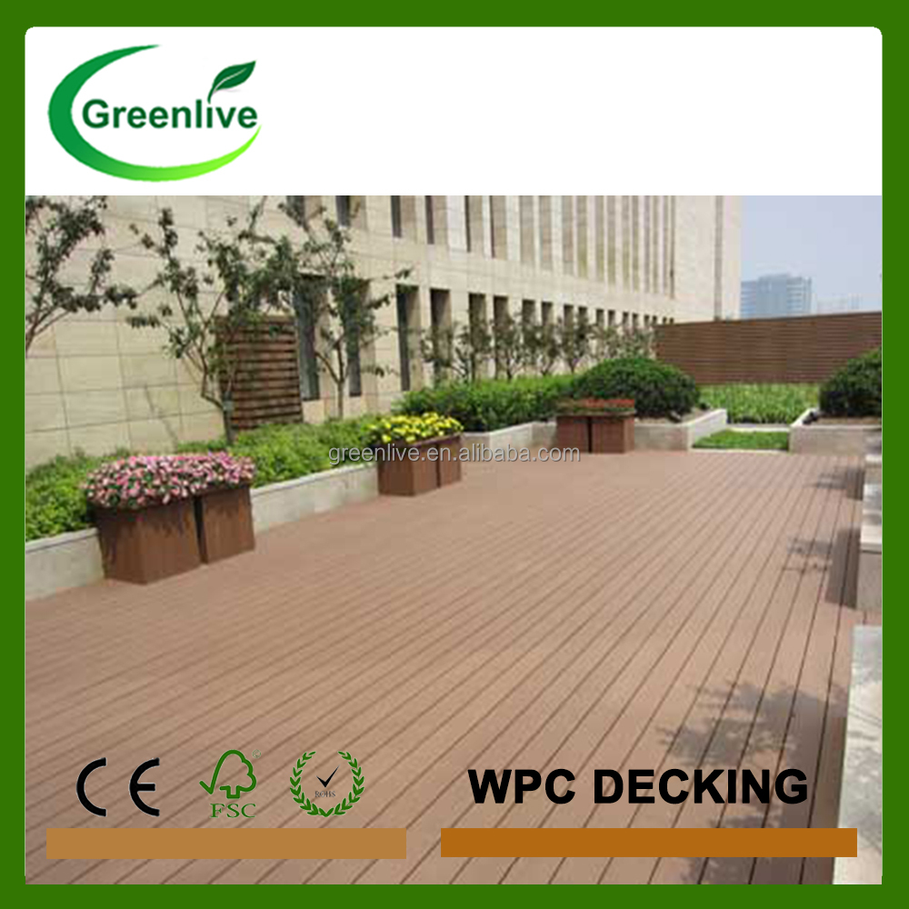 Eco friendly popular anti slip terrace wood <strong>floor</strong>