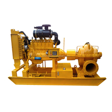High Capacity diesel engine centrifugal double suction Water Pump