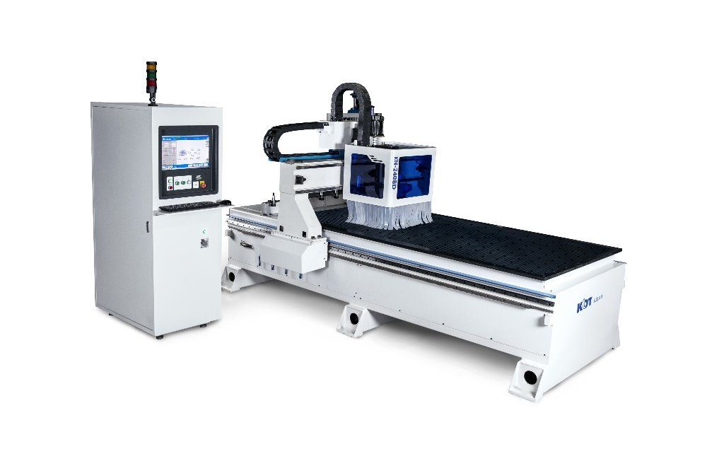 cnc router with automatic HSD tool change spindle machine KN-2408