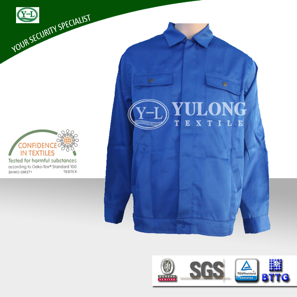 Cheap wholesale latest design black engineering male uniform for security guard