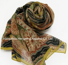 Pure Silk Long Scarf