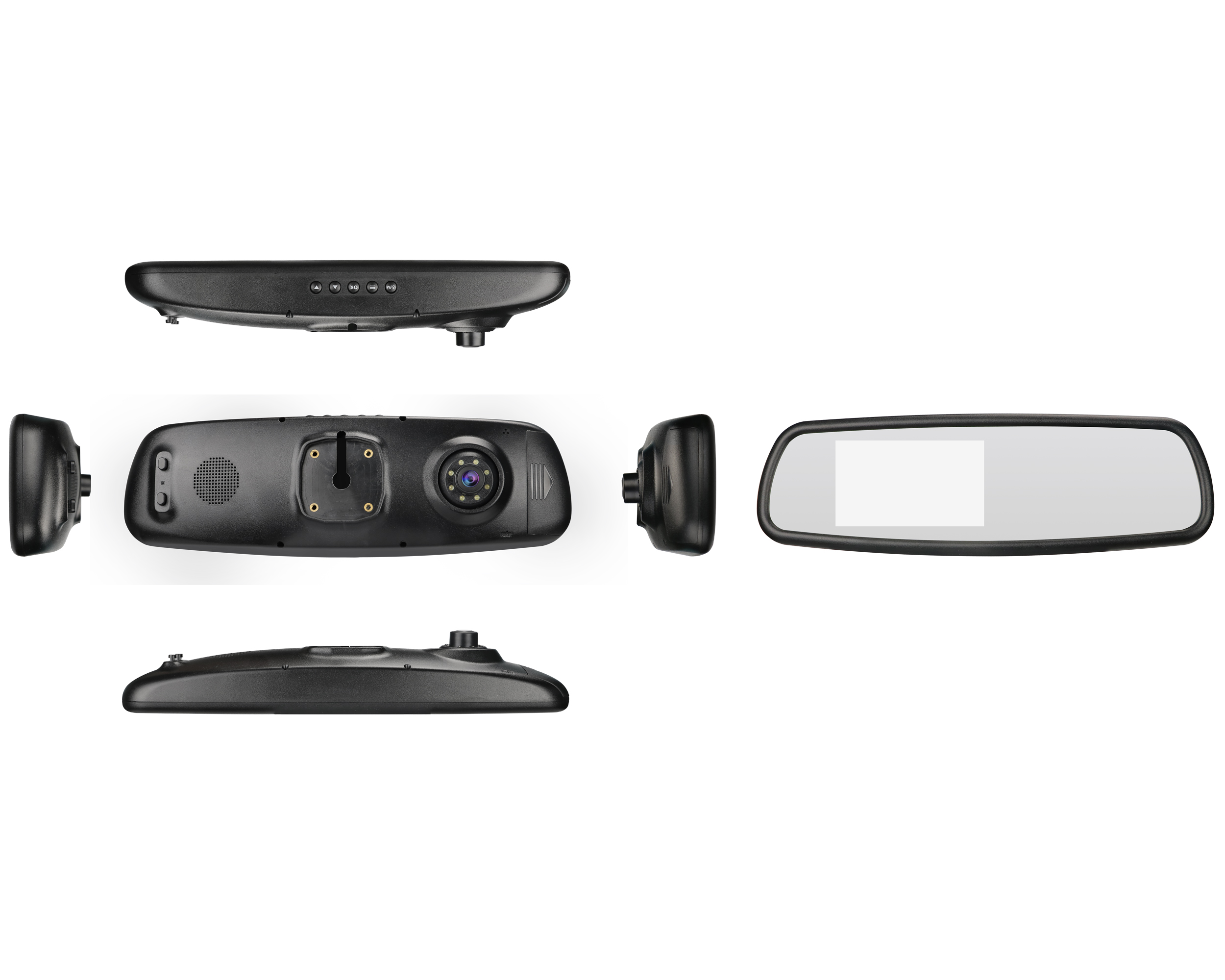 Newest 1080p Dual Record rear Mirror Camera With Rearview Camera