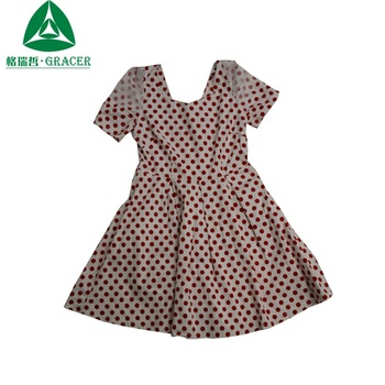 High Quality Fashion Ladies Cotton Dress All Kinds Of Used Clothing