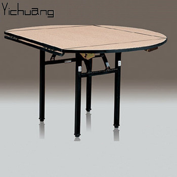 Charmant YC T46 Banquet Restaurant Plywood Round Square Folding Table