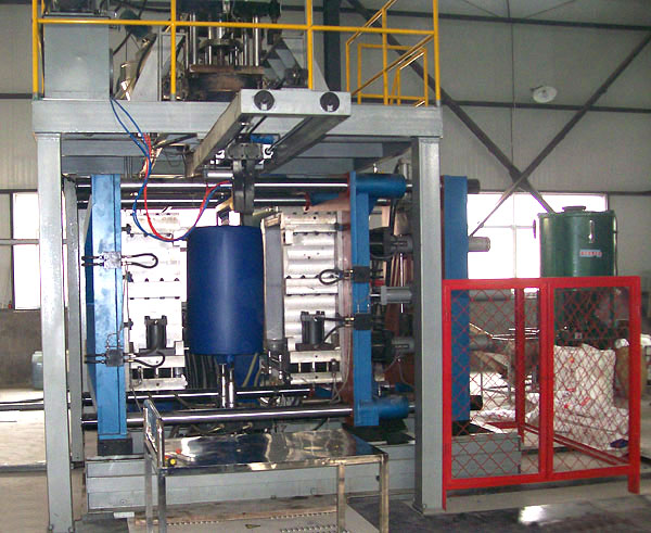 PP PE Extrusion blow Molding Machine