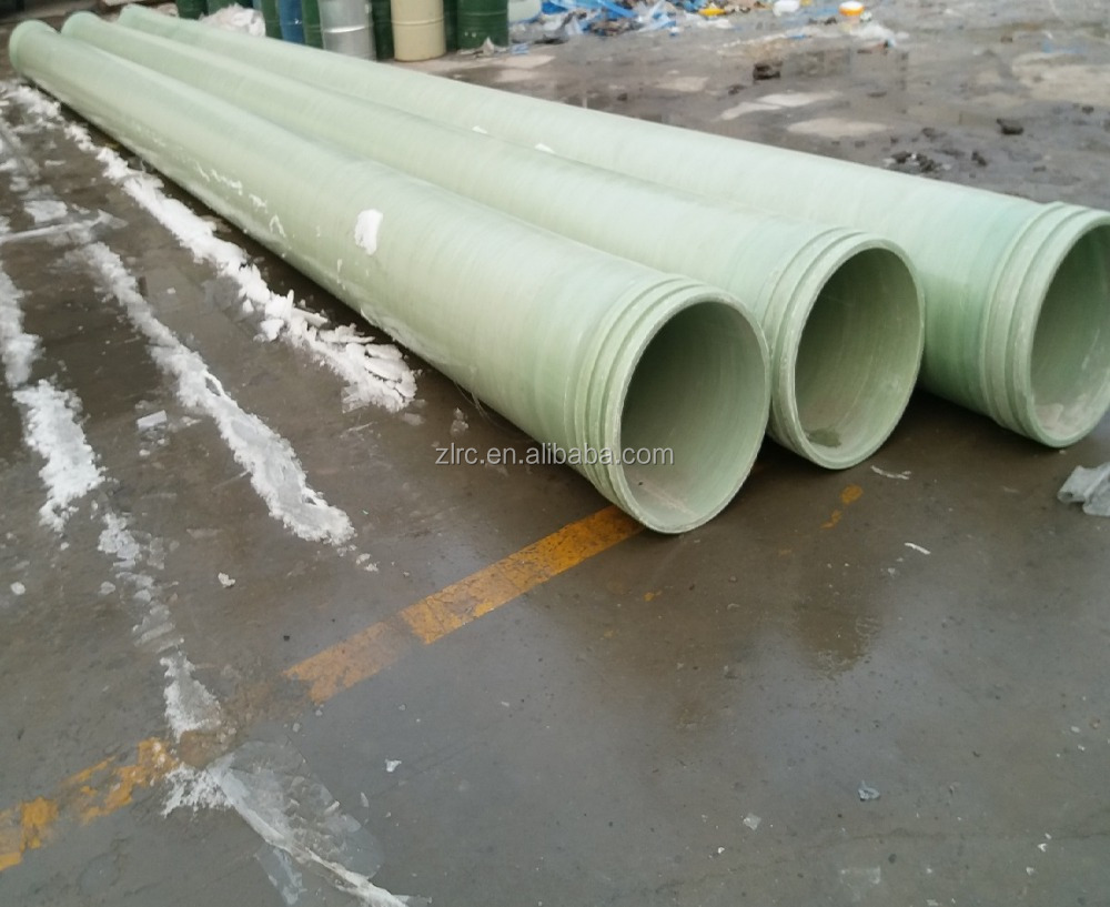 FRP GRP Fiberglass Composite Pressure Epoxy Resin Water and Oil Pipes