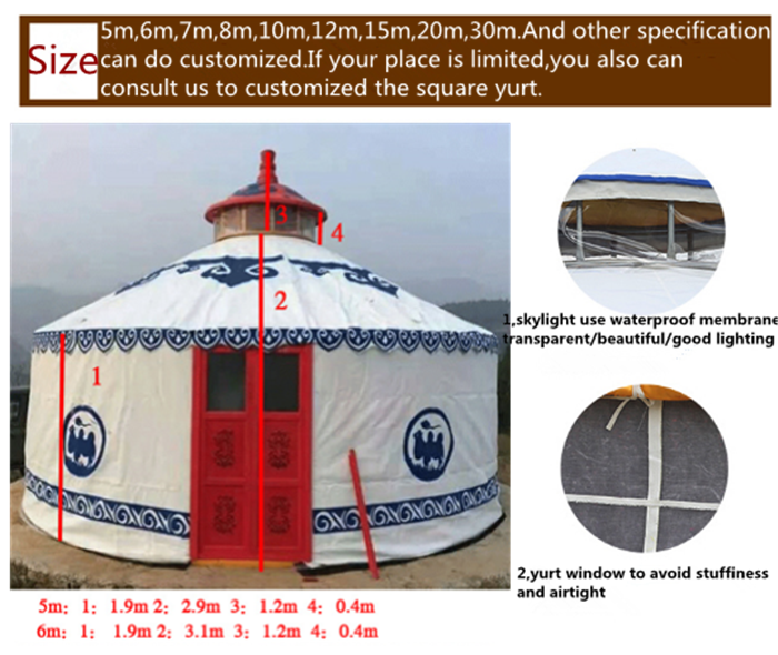 large teepee tent for sale / tipi tent large / red tent yurt