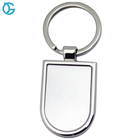 Cheap Nickel Plating Custom Logo Key Chain Metal