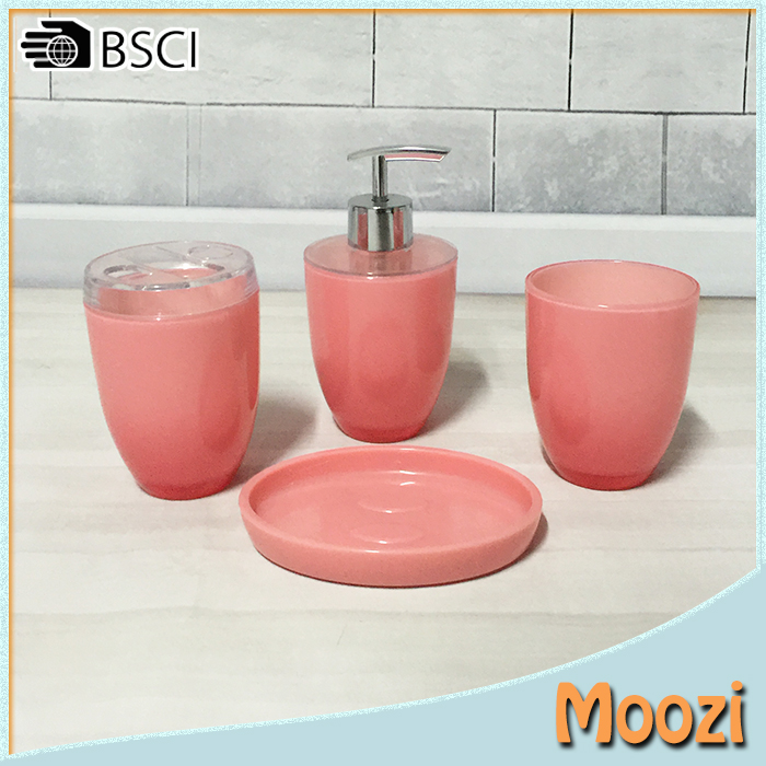 Pink Bathroom Accessories Set, Pink Bathroom Accessories Set Suppliers and  Manufacturers at Alibaba.com - Pink Bathroom Accessories Set, Pink Bathroom Accessories Set
