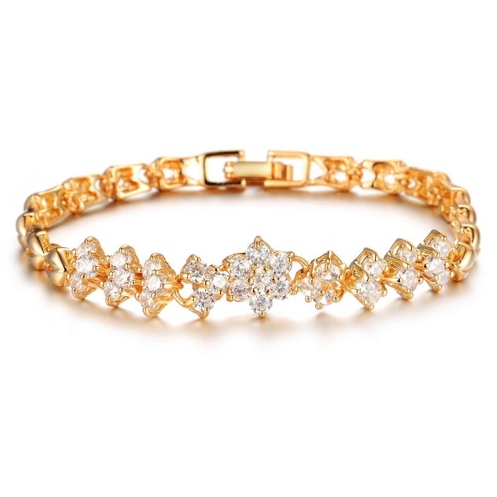 Aliexpress.com : Buy OPK New Fashion 18K Real Gold ...