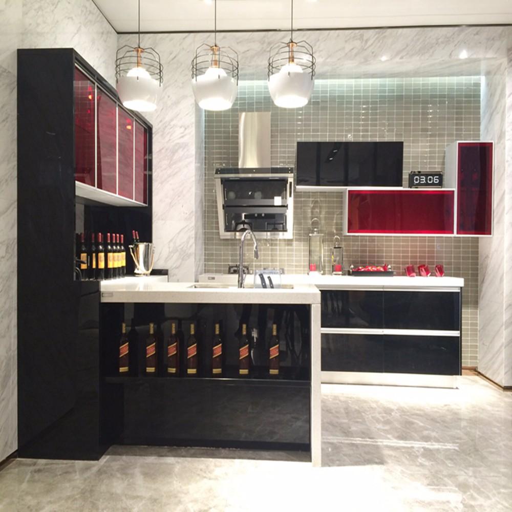 black acrylic kitchen cabinet design buy acrylic kitchen cabinet design kitchen cabinet design. Black Bedroom Furniture Sets. Home Design Ideas