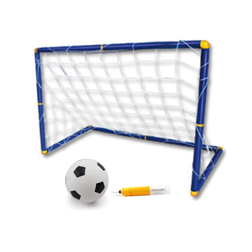 88e2fa8a8 Get Quotations · VANPOWER Portable Youth Soccer Goal Easy Score Soccer Set  with Soccer Ball and Pump (Set